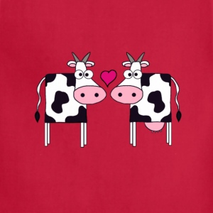 Cows in Love - Adjustable Apron