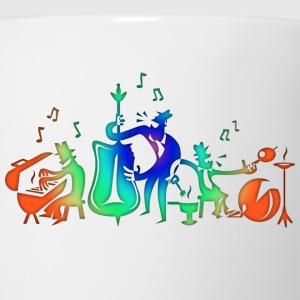 Colorful Jazz Band T-Shirts - Coffee/Tea Mug