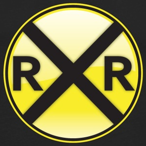 Railroad Crossing T-Shirts - Men's Premium Long Sleeve T-Shirt