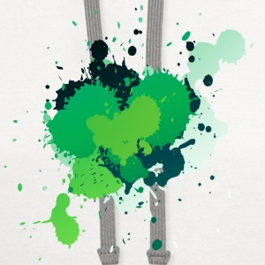 Green Paint Splatter Phone & Tablet Cases - Contrast Hoodie