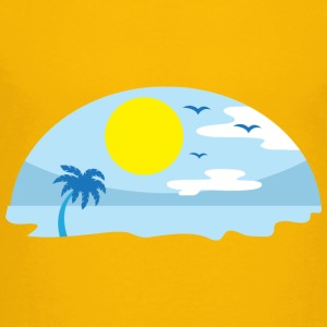 Beach - Island - Relaxation Kids' Shirts - Toddler Premium T-Shirt