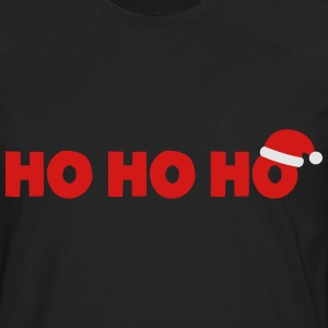 Santa Claus Ho Ho Ho T-Shirts - Men's Premium Long Sleeve T-Shirt