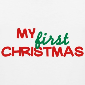 My first christmas T-Shirts - Men's Premium Tank