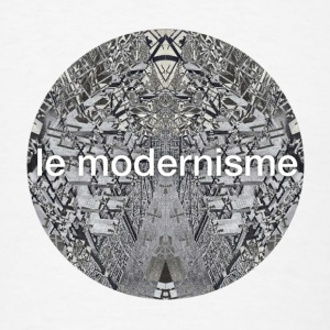 AD le modernisme Bottles & Mugs - Men's T-Shirt