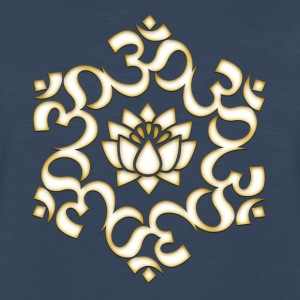 Om Lotus, Buddhism, Yoga, Meditation, spiritual Women's T-Shirts - Men's Premium Long Sleeve T-Shirt