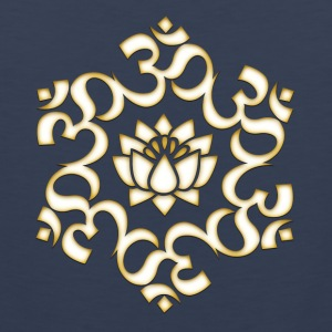 Om Lotus, Buddhism, Yoga, Meditation, spiritual Women's T-Shirts - Men's Premium Tank