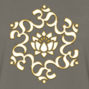 Om Lotus, Buddhism, Yoga, Meditation, spiritual T-Shirts - Men's Premium Long Sleeve T-Shirt