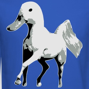 Horse with Duck Head T-Shirts - Crewneck Sweatshirt