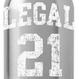 21st Birthday Legal  - Water Bottle