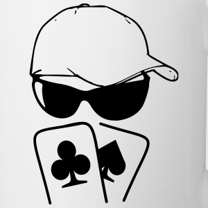 pokerface T-Shirts - Coffee/Tea Mug