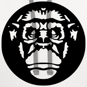 Chimp T-Shirts - Contrast Hoodie
