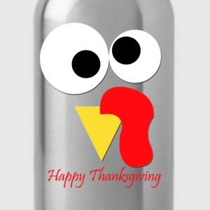 Happy Thanksiving Long Sleeve Shirts - Water Bottle