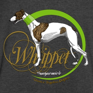 whippet Long Sleeve Shirts - Men's V-Neck T-Shirt by Canvas