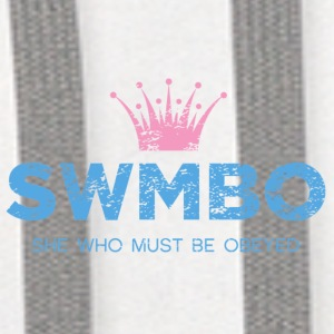 SWMBO - She Who Must Be Obeyed - Contrast Hoodie