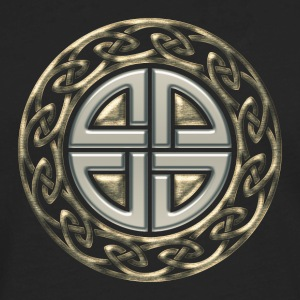 Celtic shield knot, Protection Amulet, Germanic,  T-Shirts - Men's Premium Long Sleeve T-Shirt