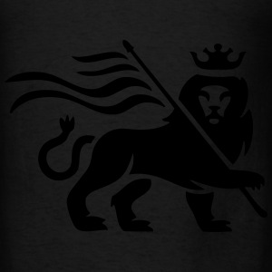 Lion reggae - Men's T-Shirt