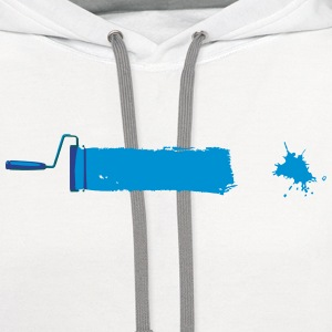 Paint T-Shirts - Contrast Hoodie