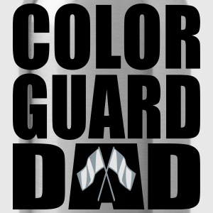 Color Guard Dad (Men's) - Water Bottle
