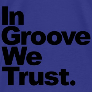 In groove wet trust Bags & backpacks - Men's Premium T-Shirt