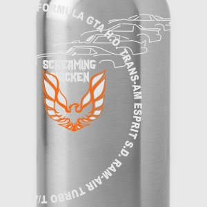 Screaming Chicken / Firebird - Water Bottle