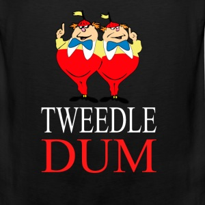 tweedle dum  Long Sleeve Shirts - Men's Premium Tank
