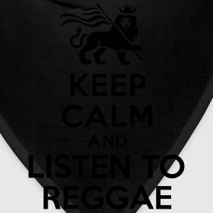 Keep calm and listen to Reggae Women's T-Shirts - Bandana