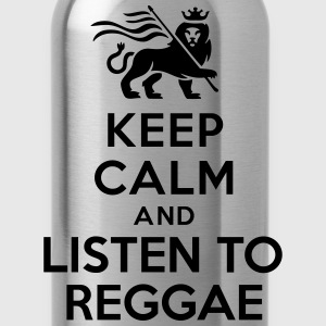 Keep calm and listen to Reggae Women's T-Shirts - Water Bottle