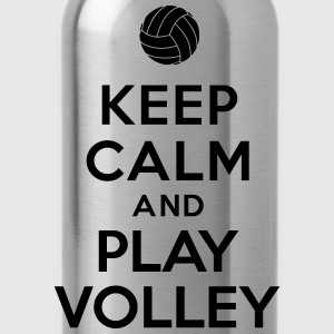 Keep calm and play Volley Hoodies - Water Bottle