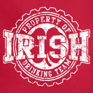 Irish Drinking Team Bottle Cap - Adjustable Apron