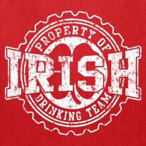 Irish Drinking Team Bottle Cap - Tote Bag