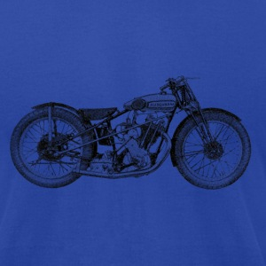 Vintage Motorcycle Hoodie - 1931 Husqvarna | Motor - Men's T-Shirt by American Apparel
