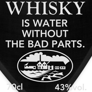Whisky is water - Bandana