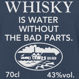Whisky is water - Men's Premium Long Sleeve T-Shirt
