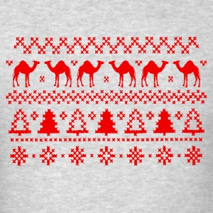 Hump Day Camel Ugly Christmas Sweater Hoodie - Men's T-Shirt
