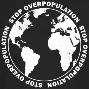 Stop Overpopulation Hoodies - Men's Premium Long Sleeve T-Shirt