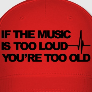 If the music is too loud Bags & backpacks - Baseball Cap