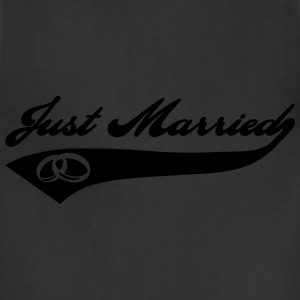Just Married Women's T-Shirts - Adjustable Apron