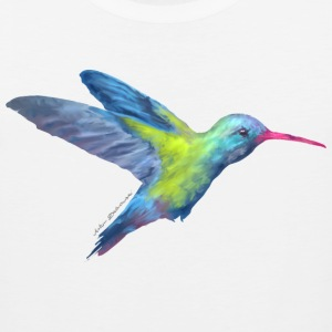 AD hummingbird T-Shirts - Men's Premium Tank