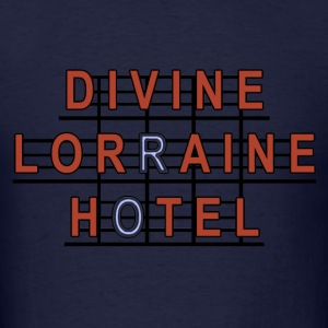 Divine Lorraine Hotel  Hoodies - Men's T-Shirt