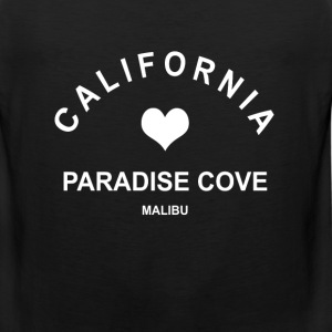 california Paradise Cove Malibu  Women's T-Shirts - Men's Premium Tank