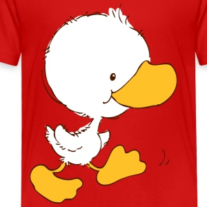 Walking Duckling Kids' Shirts - Toddler Premium T-Shirt