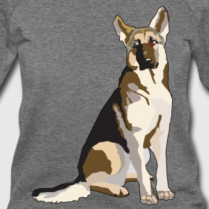 German Shepherd - Women's Wideneck Sweatshirt