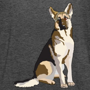 German Shepherd - Women's Flowy Tank Top by Bella