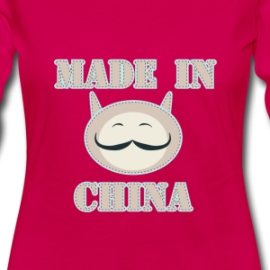 Made in China Cat - Women's Premium Long Sleeve T-Shirt