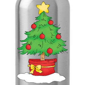 Christmas tree - Water Bottle