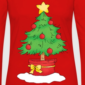Christmas tree - Women's Premium Long Sleeve T-Shirt
