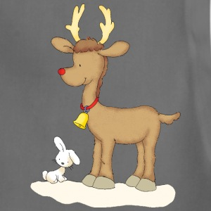 Rudolph with bunny - Adjustable Apron