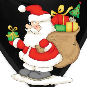 Santa Claus with bag of gifts - Bandana