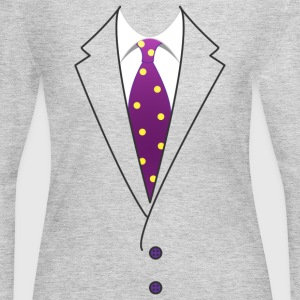 Suit & Tie - Women's Long Sleeve Jersey T-Shirt