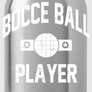 bocce_ball_player T-Shirts - Water Bottle